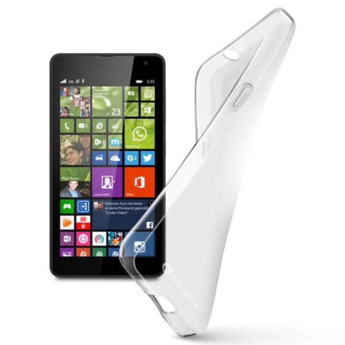 Cellular Line Shape чехол для Microsoft Lumia 535 (23002)SHAPECL535TЧехол Cellular Line Shape для Microsoft Lumia 535 обеспечивает надежную защиту корпуса и экрана смартфона от механических повреждений и надолго сохраняет его привлекательный внешний вид. Чехол также обеспечивает свободный доступ ко всем разъемам и клавишам устройства.