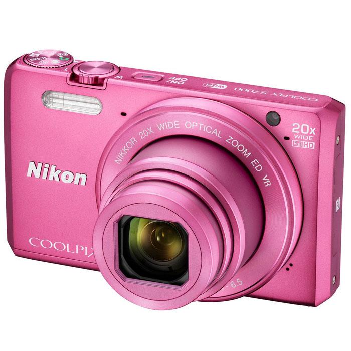 Nikon Coolpix S7000, Pink �������� ����������