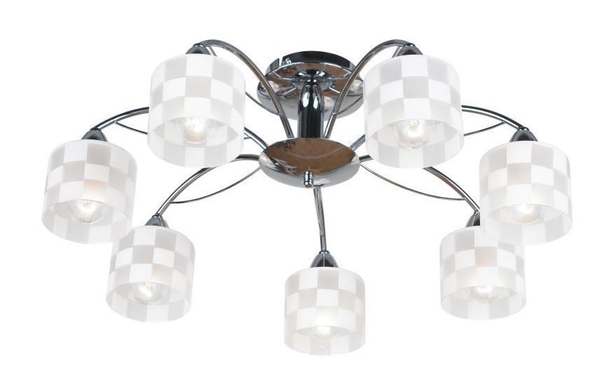 LSP-0026 Люстра потолочная, LGO, хром, E14 7*40WLSP-0026 ЛюсЛюстра LSP-0026 - выполнена в классическом стиле. Для изготовления этой модели были использованы высококачественные материалы, такие как металл и стекло. Световой поток, направленный вниз, не создает теней и дает хорошее яркое освещение вашей комнаты.