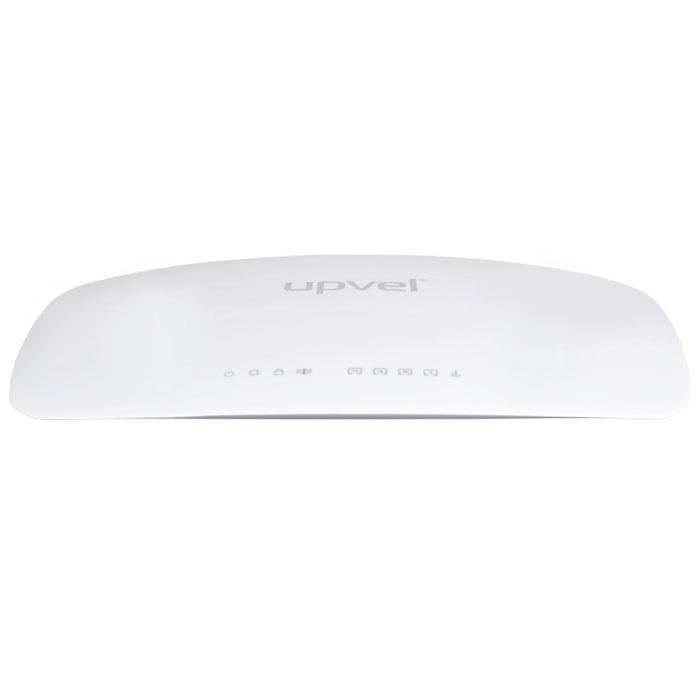 UPVEL UR-321BN ARCTIC WHITE маршрутизаторUR-321BNWi-Fi маршрутизатор UPVEL UR-321BN предназначен для организации домашней сети или сети малого офиса. С его помощью вы сможете быстро объединить в сеть стационарные компьютеры, ноутбуки, смартфоны, планшеты и другие цифровые устройства и обеспечить возможность одновременного доступа в Интернет и использования ресурсов локальной сети для всех подключенных устройств. Для беспроводного подключения таких устройств, как смартфоны, планшетные компьютеры и ноутбуки, роутер оснащен точкой доступа Wi-Fi 802.11n 300 Мбит/с. Также имеются четыре порта LAN 100 Мбит/с, которые можно использовать для проводного подключения стационарных компьютеров и IPTV приставок. Подключение к Интернету возможно через 3G/LTE модем и по проводному каналу Ethernet через порт WAN 100 Мбит/с. Первый случай предполагает обычное использование Интернета (просмотр веб-страниц, электронная почта, социальные сети, IP-телефония, простые браузерные игры и т. п.), в то время как подключение...