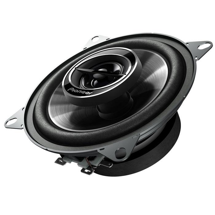 Pioneer TS-G1032I колонки автомобильныеTS-G1032IАвтомобильные широкополосные колонки Pioneer TS-TS-G1032I разработаны для мощного звука премиум класса, с прекрасным соотношением цены и качества. В их прочной конструкции предусмотрено несколько крепежных отверстий, что облегчает установку любой акустической системы G-серии в автомобиль. Благодаря возможности работы с большей мощностью и высокой чувствительности , эта акустическая система может воспроизводить глубокие, эффектные басы и естественный звук на высоких частотах - даже на высоком уровне громкости. Благодаря оптимизированному сопротивлению обмотки катушки, Pioneer TS-G1032I могут воспроизводить звук такой мощности, какой вы ранее не встречали. Исключительно прочная. но легкая конструкция не только прекрасно звучит, но и замечательно выглядит, а кроме того, теперь колонки стало гораздо легче установить в самых разных автомобилях. Специальная сетка защитит их от пыли. Pioneer TS-G1032I отличаются высокой чувствительностью, что позволяет наслаждаться...