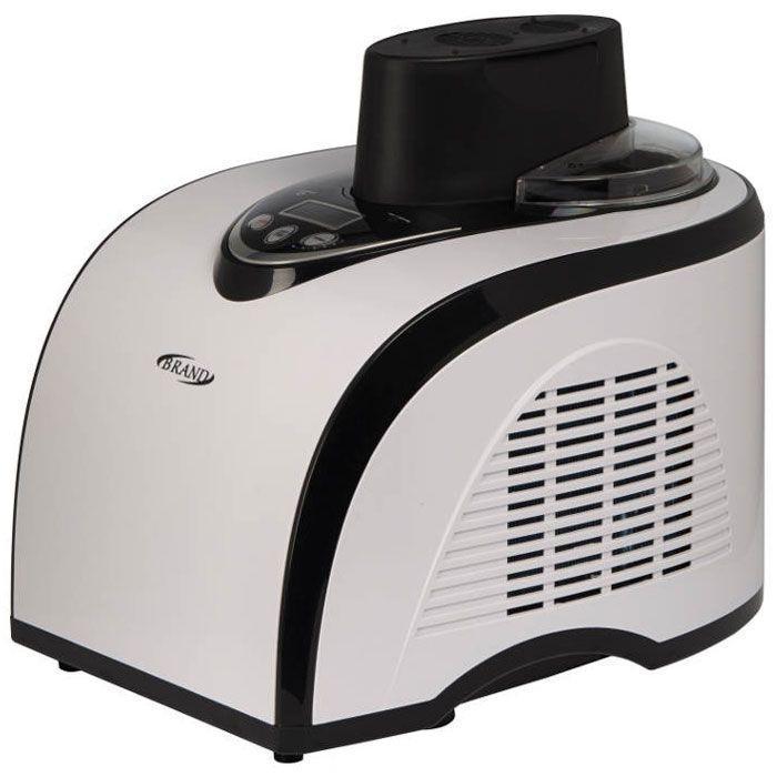 Brand 3811, White Black мороженица3811Полностью автоматическая компрессорная мороженица Brand 3811 сама приготовит вкусное и полезное мороженое меньше чем за 1 час в домашних условиях. Ингредиенты выбираете только вы - никаких растительных жиров, красителей и консервантов. Невероятное многообразие вариантов: все виды мороженого + вкуснейший сорбет + фруктовый лед. Мороженица имеет цифровое управление и интуитивный интерфейс, который характеризуется простотой управления и возможностью регулировки времени приготовления продукта, что открывает поистине безграничные возможности для приготовления десерта по собственным рецептам. ЖК-дисплей Хладагент: R134a Температура охлаждения: от -18°С до -35°С Уровень шума: до 50 дБ Время приготовления: до 1 часа Автоматическая функция дополнительного охлаждения до 1 часа Возможность увеличения времени приготовления во время работы Возможность добавления ингредиентов в процессе приготовления Съемная чаша из алюминиевого сплава