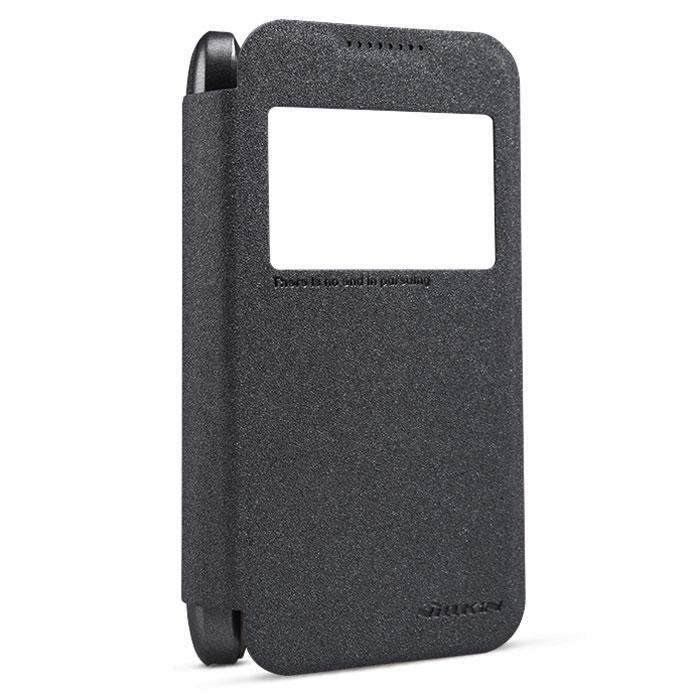 Nillkin Sparkle Leather Case чехол для HTC Desire 320, BlackT-N-HD320-009Чехол Nillkin Sparkle Leather Case для HTC Desire 320 обеспечивает амортизацию удара при непредвиденном падении устройства, а также защитит его от пыли, отпечатков пальцев и царапин. Обеспечивает свободный доступ ко всем разъемам и клавишам устройства.
