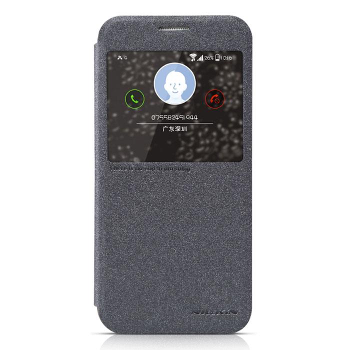 Nillkin Sparkle Leather Case чехол для Samsung Galaxy S6, BlackT-N-SGS6-009Чехол Nillkin Sparkle Leather Case для Samsung Galaxy S6 обеспечивает амортизацию удара при непредвиденном падении устройства, а также защитит его от пыли, отпечатков пальцев и царапин. Обеспечивает свободный доступ ко всем разъемам и клавишам устройства.