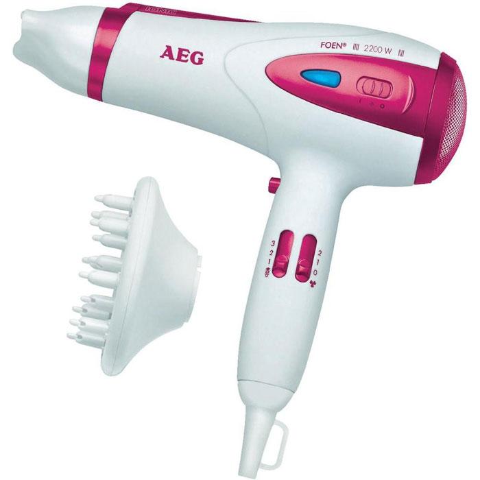 AEG HTD 5584, White Pink фен