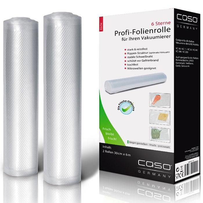 CASO VC 30х600 пленка в рулоне для вакуумного упаковщика, 2 шт.