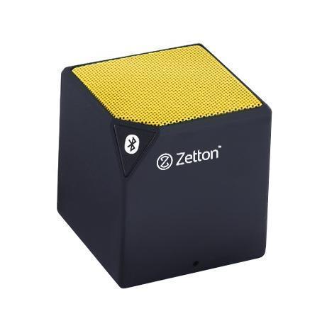 Zetton Cube, Black Yellow портативная Bluetooth-колонка (ZTLSBSCUB)ZTLSBSCUBBYБеспроводная колонка предназначена для воспроизведения музыки с любого аудиоустройства через Bluetooth соединение.