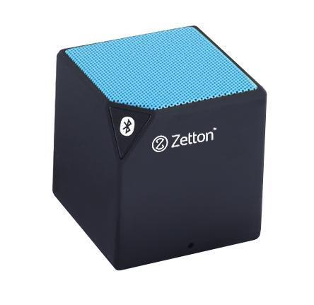 Zetton Cube, Black Blue портативная Bluetooth-колонка (ZTLSBSCUB)ZTLSBSCUBBBБеспроводная колонка предназначена для воспроизведения музыки с любого аудиоустройства через Bluetooth соединение.