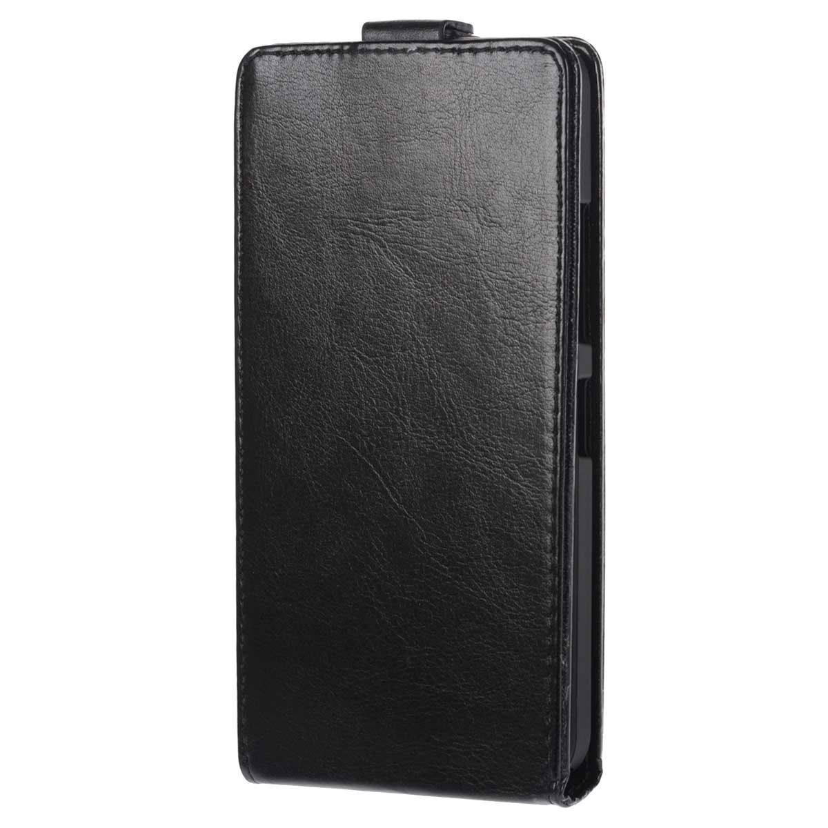 Skinbox Flip Case чехол для Microsoft Lumia 640XL, BlackT-F-ML640XLФлип-кейс Skinbox для Microsoft Lumia 640XL не ограничивает функционал мобильного телефона. Адаптированная форма оставляет необходимые элементы устройства легко доступными. Качественная искусственная кожа, из которой изготовлен чехол, очень прочна и практична, а также идеально соответствует натуральной коже и создает приятные ощущения при касании. Смартфон фиксируется на жесткой основе из прочного пластика, которая не только защищает смартфон от ударов, но и максимально долго сохраняет свою форму. Передняя панель флип-кейса закрепляется магнитной застежкой, предотвращающей раскрытие чехла и повреждение дисплея вашего устройства.