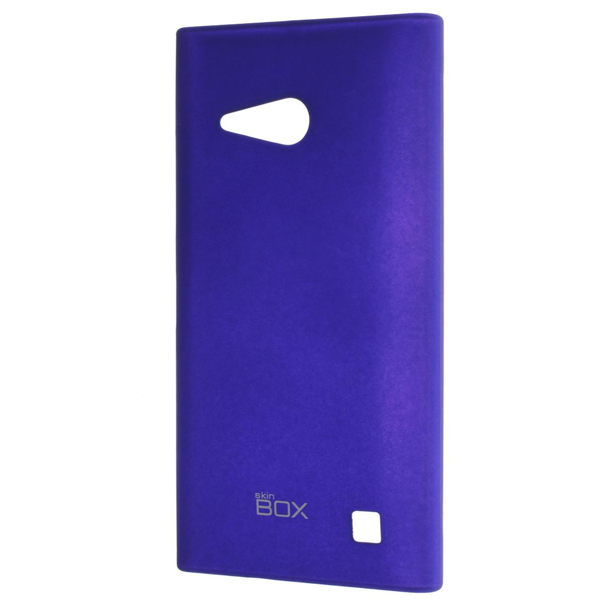 Skinbox Shield 4People чехол для Nokia Lumia 730/735, BlueT-S-NL730-002Чехол Skinbox Shield 4People для Nokia Lumia 730/735 предназначен для защиты корпуса смартфона от механических повреждений и царапин в процессе эксплуатации. Имеется свободный доступ ко всем разъемам и кнопкам устройства. В комплект также входит защитная пленка на экран телефона.