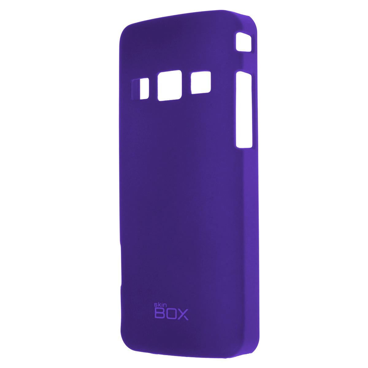 Skinbox Shield 4People чехол для Samsung S5610/5611, BlueT-S-SS5610-002Накладка Skinbox Shield 4People для Samsung S5610/5611- отличный аксессуар для защиты корпуса вашего смартфона от внешних повреждений, сохраняющий размеры устройства и обеспечивающий удобство работы с ним. Устойчивый к истиранию пластик надежно амортизирует мелкие механические воздействия и предотвращает появление царапин или потертостей на корпусе вашего гаджета. В комплект также входит защитная пленка для экрана смартфона.