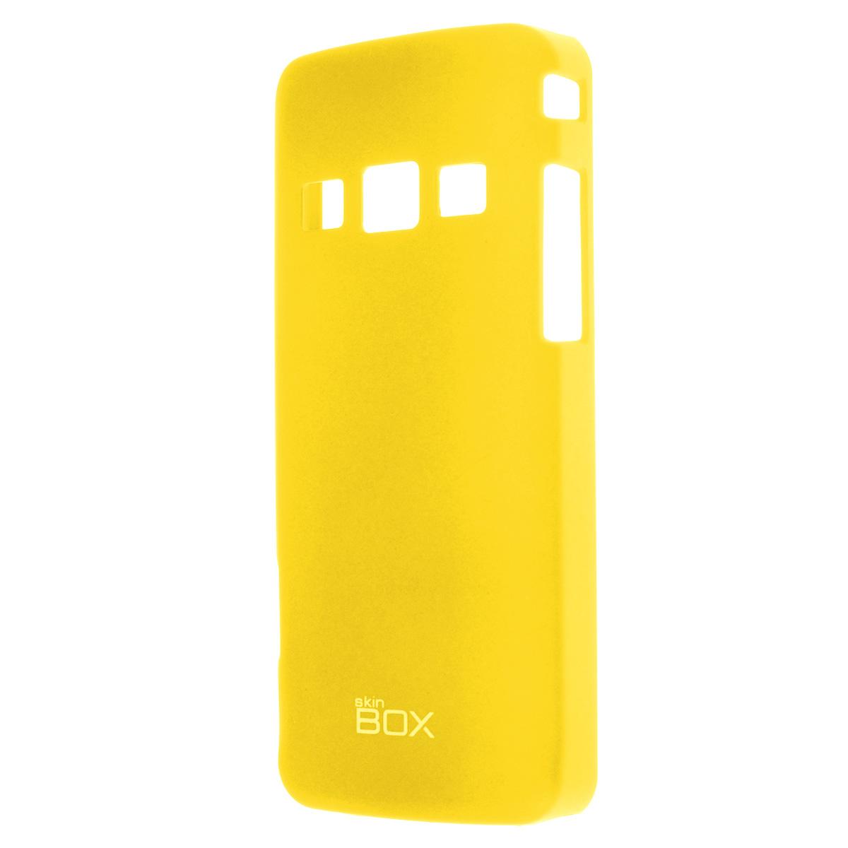 Skinbox Shield 4People чехол для Samsung S5610/5611, YellowT-S-SS5610-002Накладка Skinbox Shield 4People для Samsung S5610/5611- отличный аксессуар для защиты корпуса вашего смартфона от внешних повреждений, сохраняющий размеры устройства и обеспечивающий удобство работы с ним. Устойчивый к истиранию пластик надежно амортизирует мелкие механические воздействия и предотвращает появление царапин или потертостей на корпусе вашего гаджета. В комплект также входит защитная пленка для экрана смартфона.