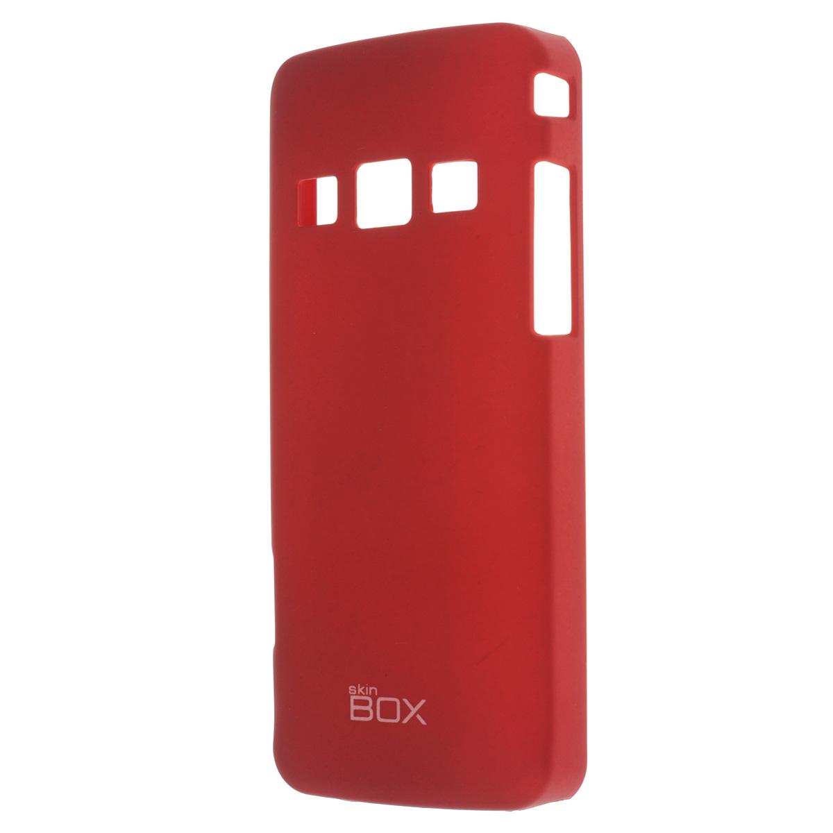 Skinbox Shield 4People чехол для Samsung S5610/5611, RedT-S-SS5610-002Накладка Skinbox Shield 4People для Samsung S5610/5611- отличный аксессуар для защиты корпуса вашего смартфона от внешних повреждений, сохраняющий размеры устройства и обеспечивающий удобство работы с ним. Устойчивый к истиранию пластик надежно амортизирует мелкие механические воздействия и предотвращает появление царапин или потертостей на корпусе вашего гаджета. В комплект также входит защитная пленка для экрана смартфона.