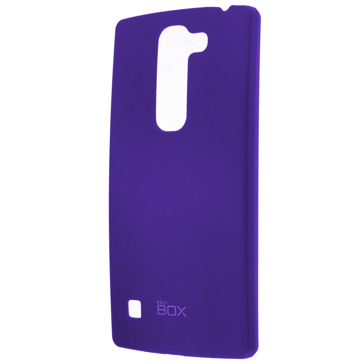 Skinbox Shield 4People чехол для LG Spirit, BlueT-S-LS-002Накладка Skinbox Shield 4People для LG Spirit - отличный аксессуар для защиты корпуса вашего смартфона от внешних повреждений, сохраняющий размеры устройства и обеспечивающий удобство работы с ним. Устойчивый к истиранию пластик надежно амортизирует мелкие механические воздействия и предотвращает появление царапин или потертостей на корпусе вашего гаджета. В комплект также входит защитная пленка для экрана смартфона.