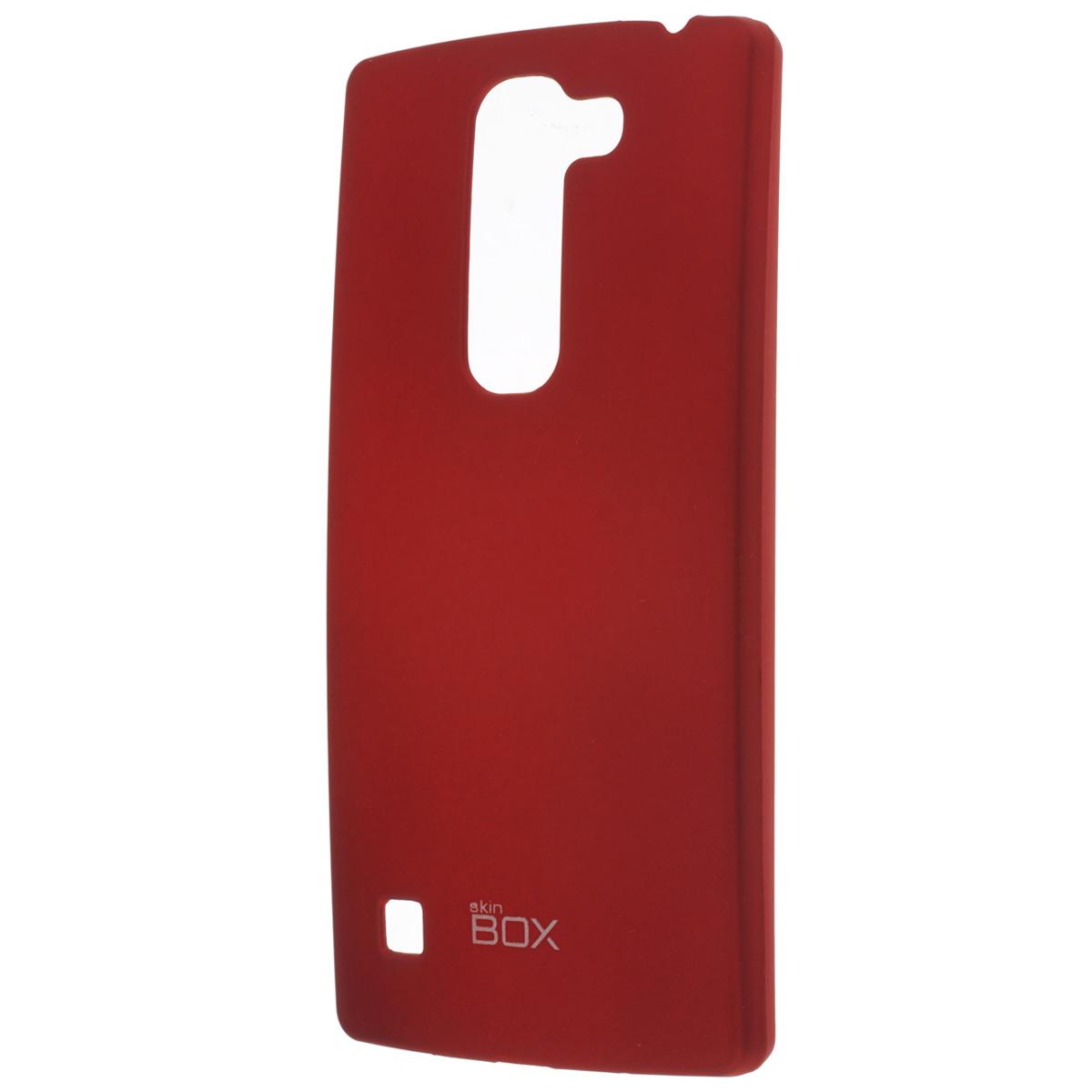 Skinbox Shield 4People чехол для LG Spirit, RedT-S-LS-002Накладка Skinbox Shield 4People для LG Spirit - отличный аксессуар для защиты корпуса вашего смартфона от внешних повреждений, сохраняющий размеры устройства и обеспечивающий удобство работы с ним. Устойчивый к истиранию пластик надежно амортизирует мелкие механические воздействия и предотвращает появление царапин или потертостей на корпусе вашего гаджета. В комплект также входит защитная пленка для экрана смартфона.