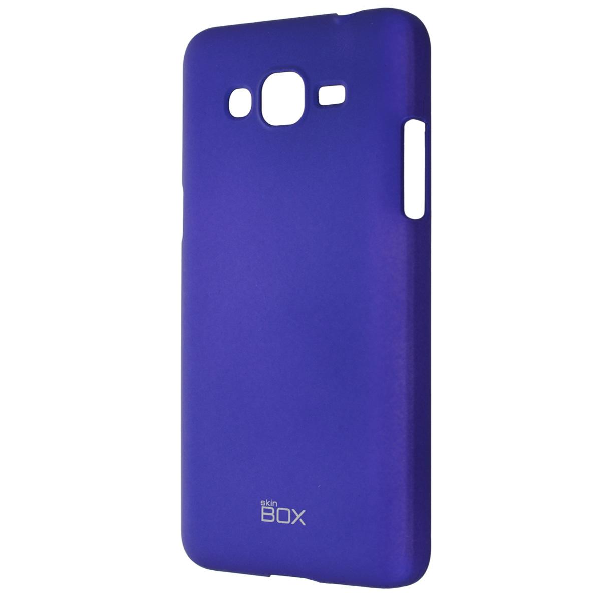 Skinbox Shield 4People чехол для Samsung Galaxy Grand Prime, BlueT-S-SG530-002Чехол Skinbox Shield 4People для Samsung Galaxy Grand Prime предназначен для защиты корпуса смартфона от механических повреждений и царапин в процессе эксплуатации. Имеется свободный доступ ко всем разъемам и кнопкам устройства. В комплект также входит защитная пленка на экран телефона.