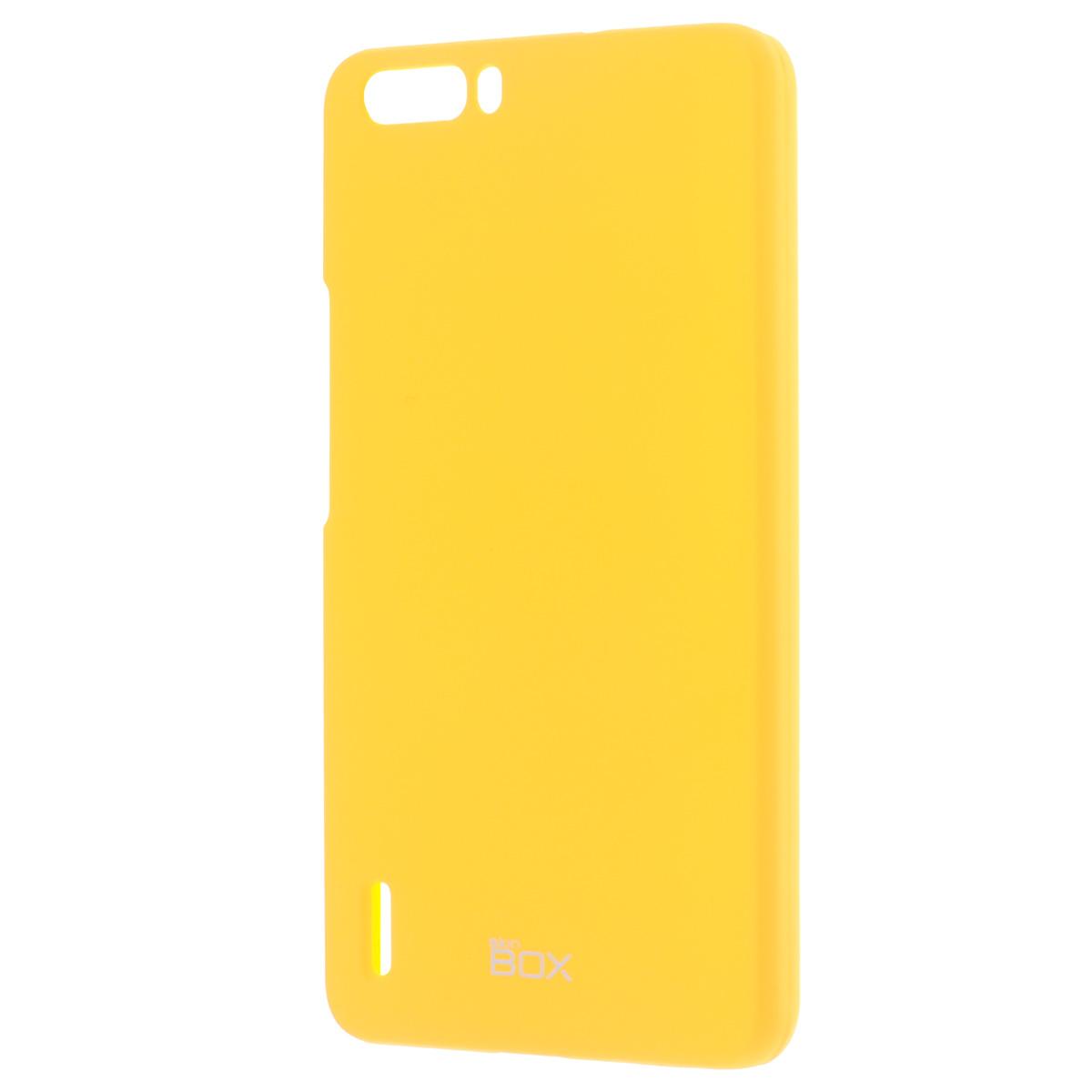Skinbox Shield 4People чехол для Huawei Honor 6 Plus, YellowT-S-HH6P-002Накладка Skinbox Shield 4People для Huawei Honor 6 Plus обеспечивает амортизацию удара при непредвиденном падении устройства, а также защитит его от пыли, отпечатков пальцев и царапин. Обеспечивает свободный доступ ко всем разъемам и клавишам устройства.