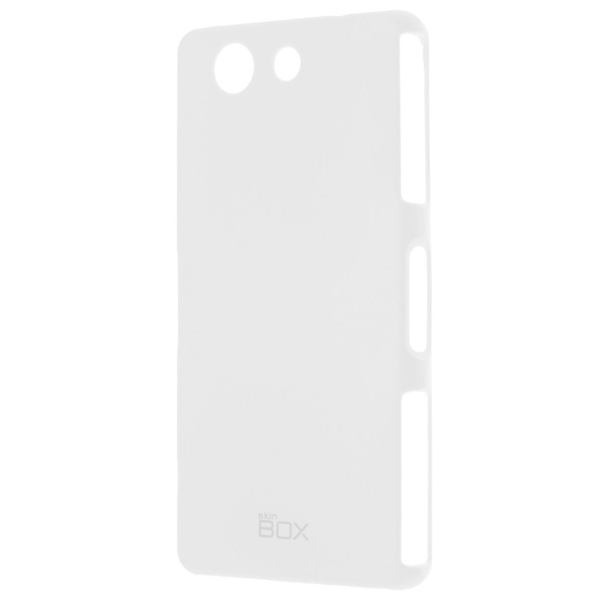 Skinbox Shield 4People чехол для Sony Xperia Z3 Compact, WhiteT-S-SXZ3C-002Накладка Skinbox Shield 4People для Sony Xperia Z3 Compact - отличный аксессуар для защиты корпуса вашего смартфона от внешних повреждений, сохраняющий размеры устройства и обеспечивающий удобство работы с ним. Устойчивый к истиранию пластик надежно амортизирует мелкие механические воздействия и предотвращает появление царапин или потертостей на корпусе вашего гаджета.