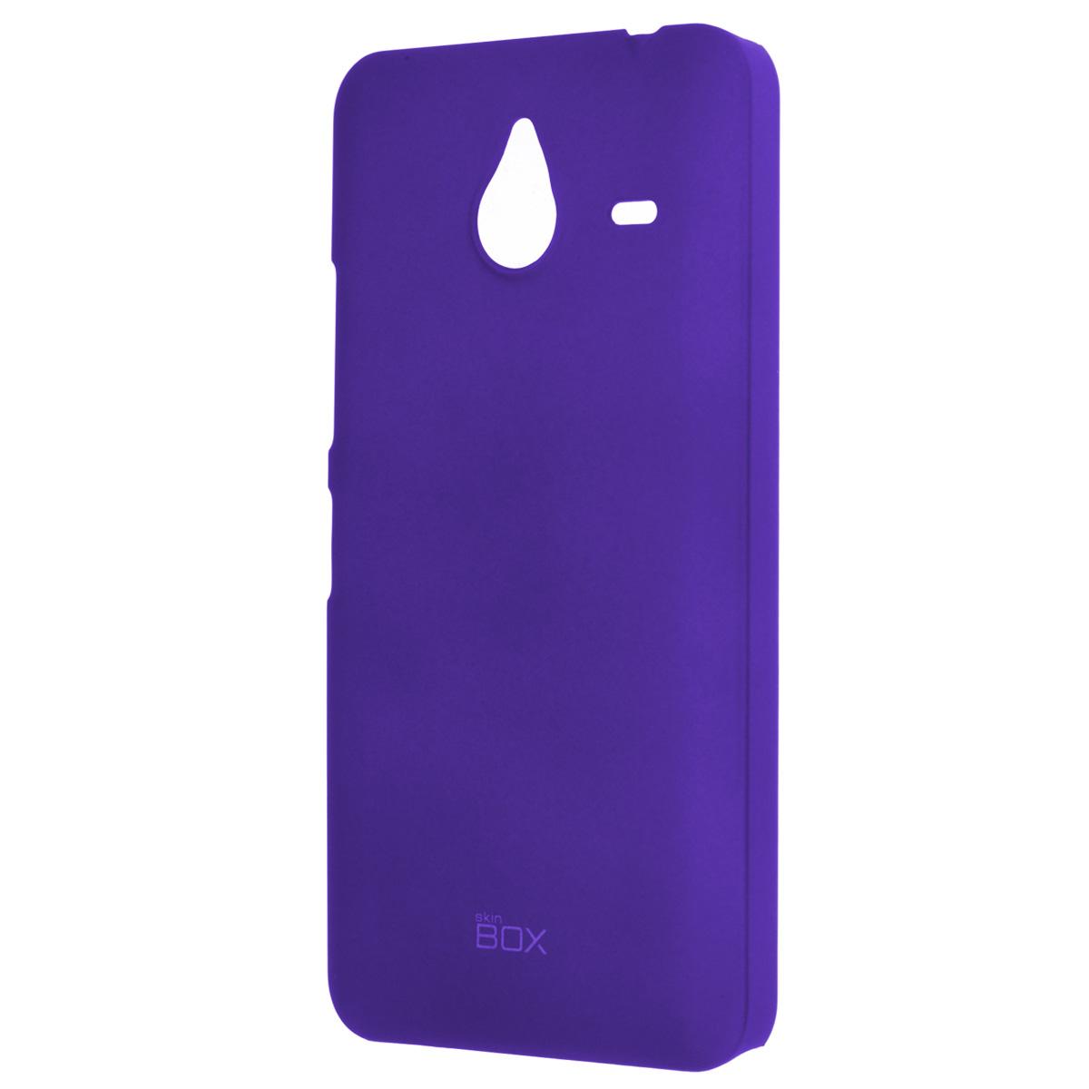 Skinbox Shield 4People чехол для Microsoft Lumia 640XL, BlueT-S-ML640XL-002Накладка Skinbox Shield 4People для Microsoft Lumia 640XL - отличный аксессуар для защиты корпуса вашего смартфона от внешних повреждений, сохраняющий размеры устройства и обеспечивающий удобство работы с ним. Устойчивый к истиранию пластик надежно амортизирует мелкие механические воздействия и предотвращает появление царапин или потертостей на корпусе вашего гаджета. В комплект также входит защитная пленка для экрана смартфона.