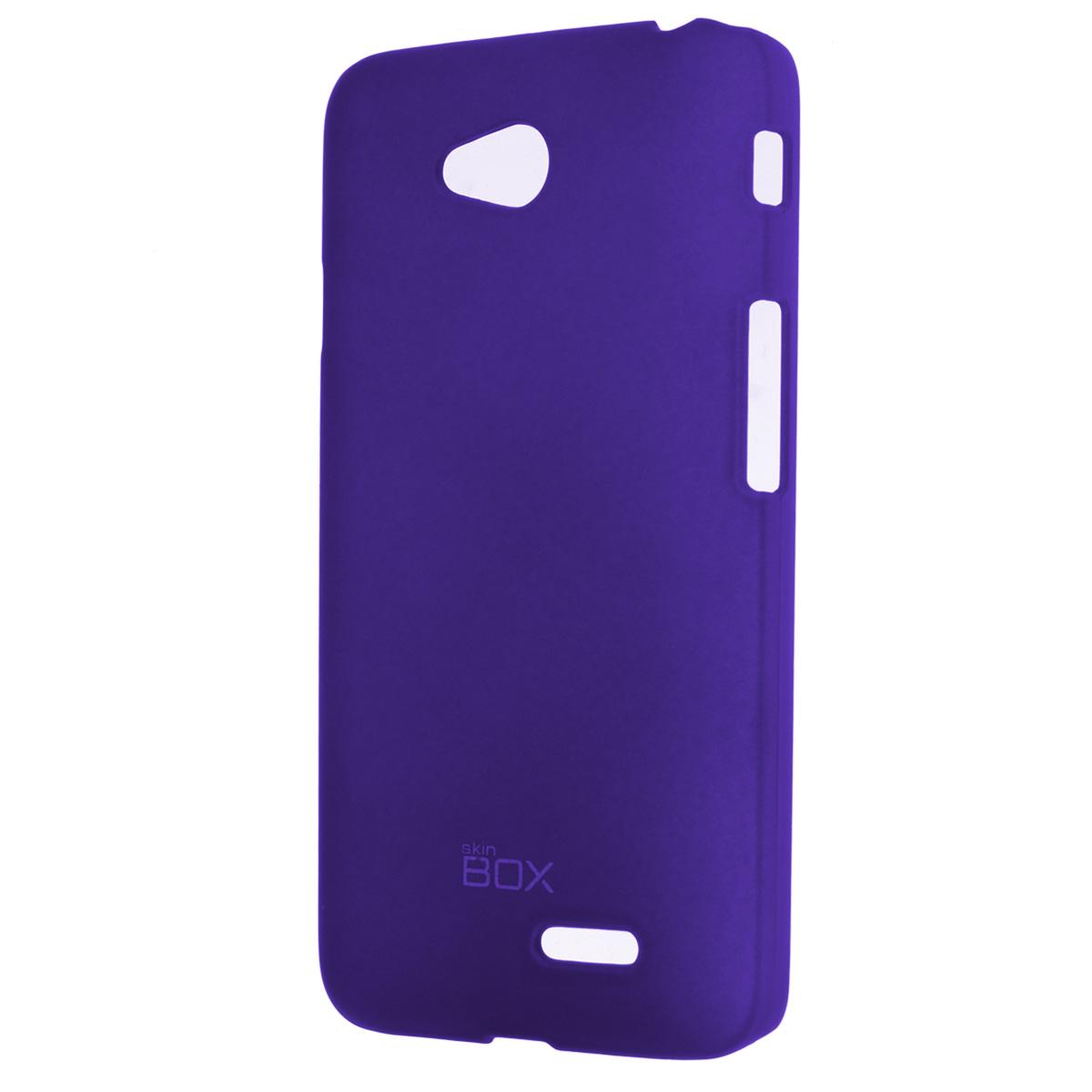 Skinbox Shield 4People чехол для LG L70 Dual, BlueT-S-LL70-002Чехол Skinbox Shield 4People для LG L70 предназначен для защиты корпуса смартфона от механических повреждений и царапин в процессе эксплуатации. Имеется свободный доступ ко всем разъемам и кнопкам устройства. В комплект также входит защитная пленка на экран телефона.