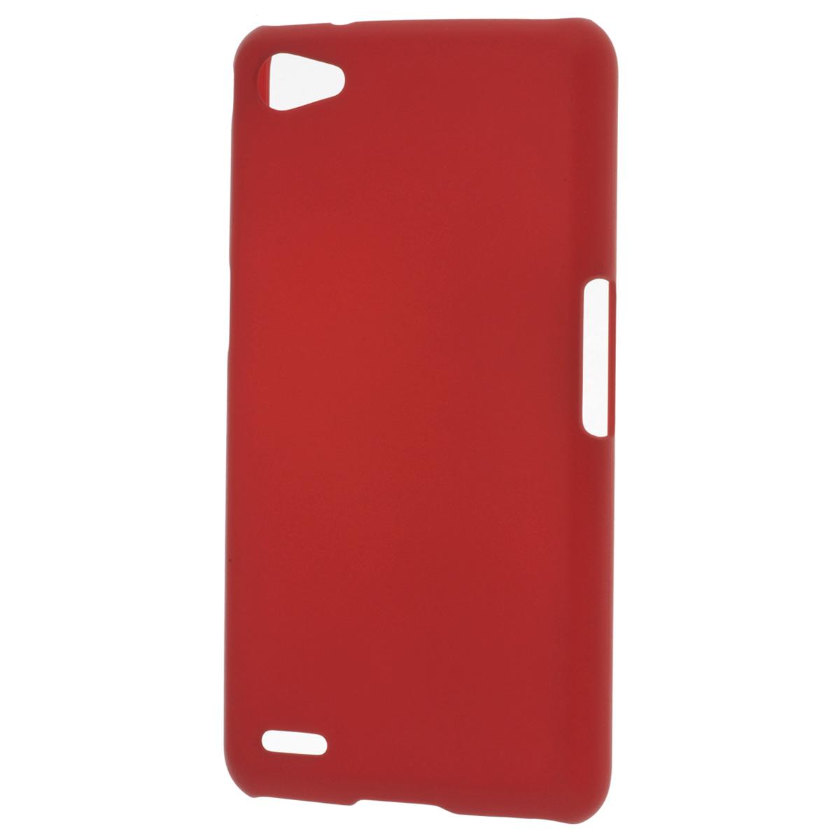 Skinbox Shield 4People чехол для Philips W6610, RedT-S-PW6610-002Накладка Skinbox Shield 4People для Philips W6610 - отличный аксессуар для защиты корпуса вашего смартфона от внешних повреждений, сохраняющий размеры устройства и обеспечивающий удобство работы с ним. Устойчивый к истиранию пластик надежно амортизирует мелкие механические воздействия и предотвращает появление царапин или потертостей на корпусе вашего гаджета. В комплект также входит защитная пленка для экрана смартфона.