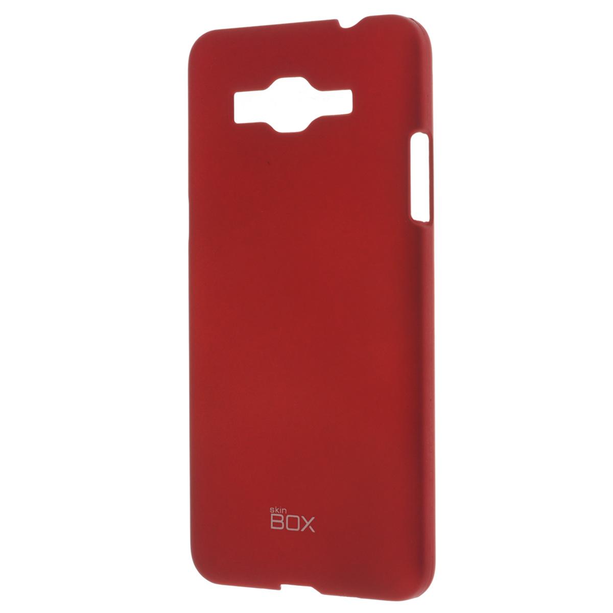 Skinbox Shield 4People чехол для Samsung Galaxy Grand Prime, RedT-S-SG530-002Чехол Skinbox Shield 4People для Samsung Galaxy Grand Prime предназначен для защиты корпуса смартфона от механических повреждений и царапин в процессе эксплуатации. Имеется свободный доступ ко всем разъемам и кнопкам устройства. В комплект также входит защитная пленка на экран телефона.