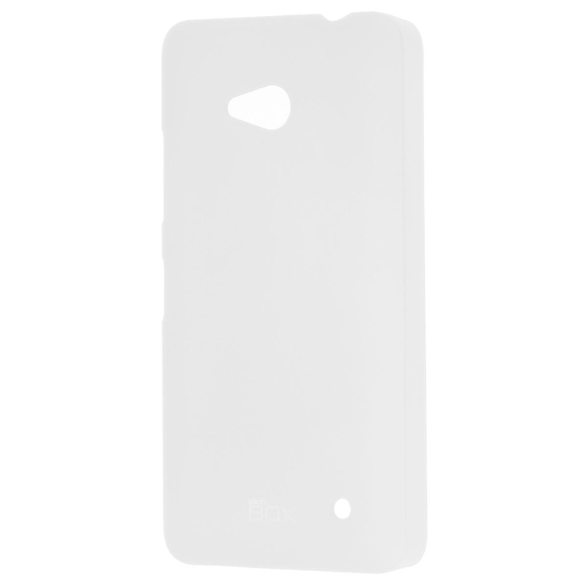 Skinbox Shield 4People чехол для Microsoft Lumia 640, WhiteT-S-ML640-002Накладка Skinbox Shield 4People для Microsoft Lumia 640 обеспечивает амортизацию удара при непредвиденном падении устройства, а также защитит его от пыли, отпечатков пальцев и царапин. Обеспечивает свободный доступ ко всем разъемам и клавишам устройства.