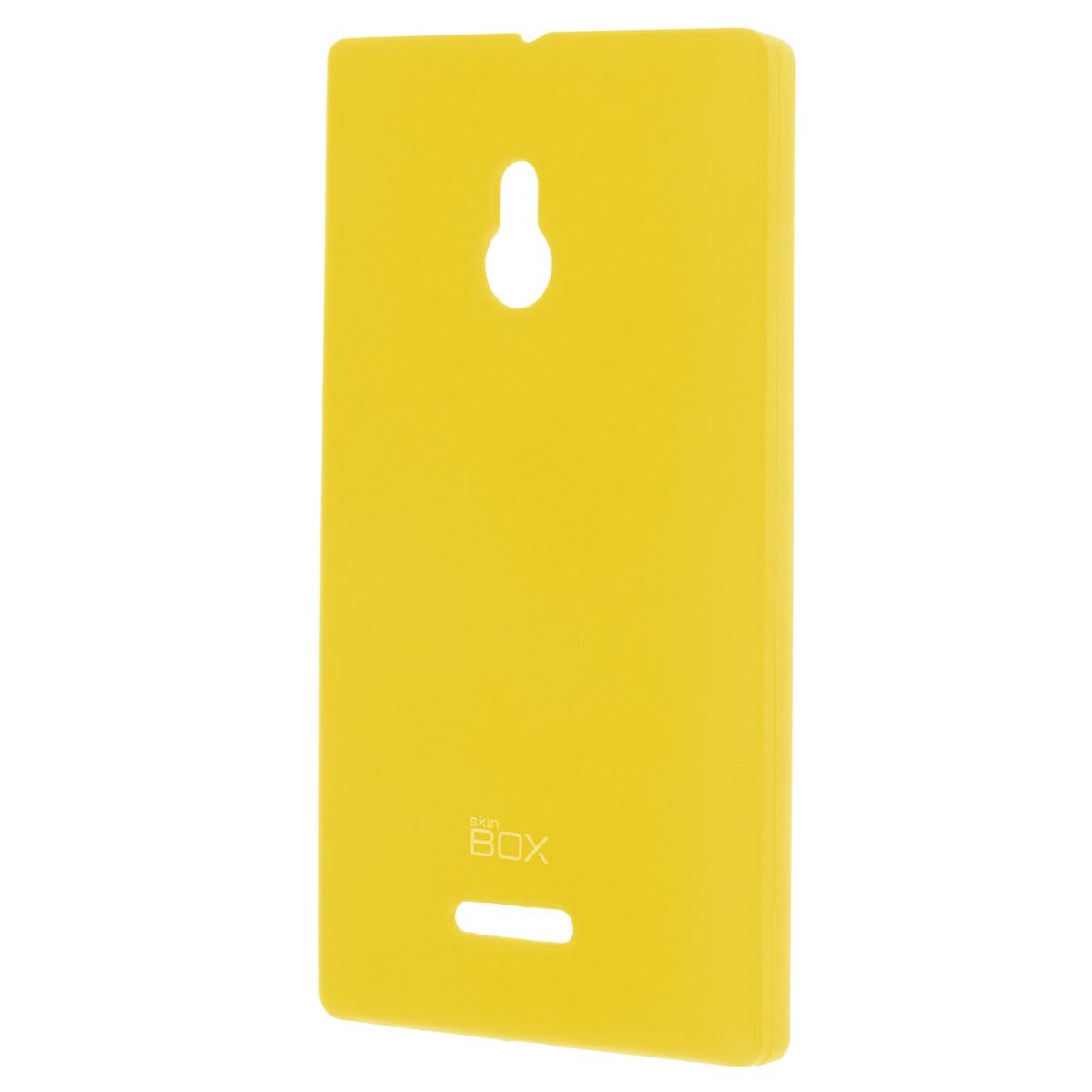 Skinbox Shield 4People чехол для Nokia XL, YellowT-S-NXL-002Чехол Skinbox Shield 4People для Nokia XL предназначен для защиты корпуса смартфона от механических повреждений и царапин в процессе эксплуатации. Имеется свободный доступ ко всем разъемам и кнопкам устройства. В комплект также входит защитная пленка на экран телефона.