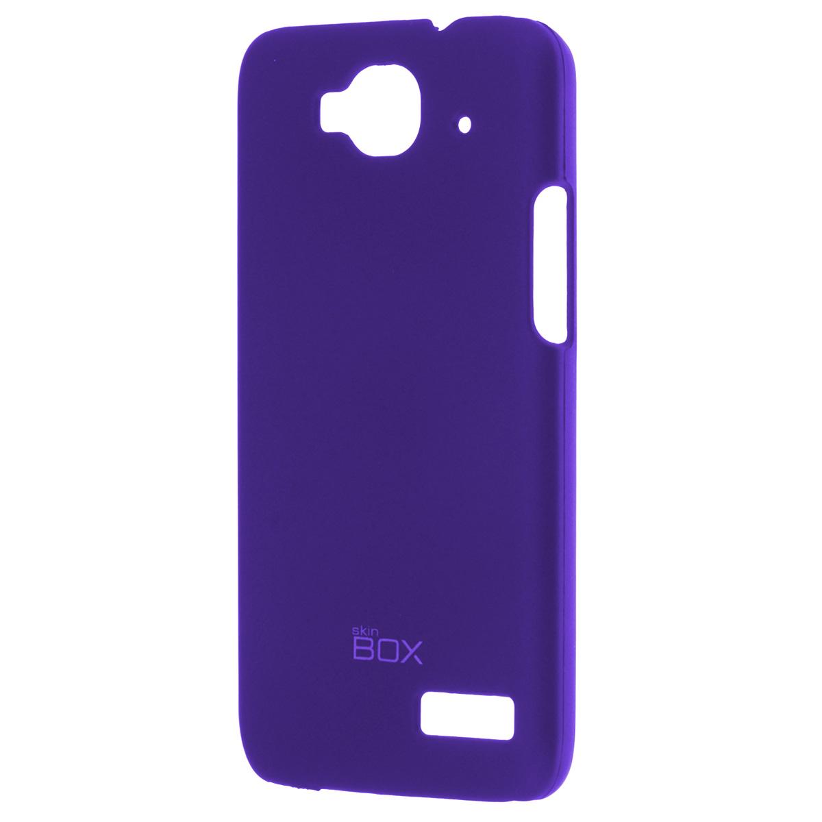 Skinbox Shield 4People чехол для Alcatel 6012D Idol Mini, BlueT-S-A6012D-002Накладка Skinbox Shield 4People для Alcatel 6012D Idol Mini - отличный аксессуар для защиты корпуса вашего смартфона от внешних повреждений, сохраняющий размеры устройства и обеспечивающий удобство работы с ним. Устойчивый к истиранию пластик надежно амортизирует мелкие механические воздействия и предотвращает появление царапин или потертостей на корпусе вашего гаджета. В комплект также входит защитная пленка для экрана смартфона.