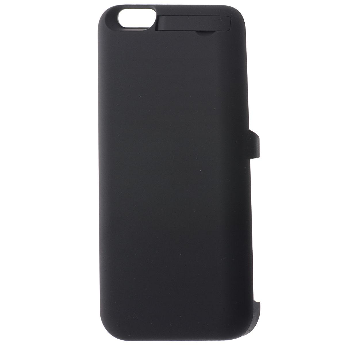EXEQ HelpinG-iC08 чехол-аккумулятор для iPhone 6, Black (3300 мАч, клип-кейс)HelpinG-iC08 BLЧехол-аккумулятор EXEQ HelpinG-iC08 - это отличное решение для тех, кто не может долго обходиться без смартфона. После долгого использования, как известно, современные телефоны быстро разряжаются. С выходом нового iPhone 6-го поколения, данный стильный портативный аккумулятор просто незаменим. С помощью портативного зарядного устройства вы сможете зарядить свой смартфон абсолютно везде: будь то на улице, в общественном транспорте или в любом другом месте, где рядом не оказалось розетки. Чехол-аккумулятор HelpinG-iC08 заряжает ваш телефон до 100 % и автоматически отключается. Заряда хватает на длительное время. Данное зарядное устройство обладает 4-мя индикаторами состояния заряда батареи. Аккумулятор очень легкий, Вам нет необходимости брать с собой зарядные устройства с проводом, которые путаются в сумке. Такой аккумулятор можно использовать несколько дней! Это устройство такое компактное, что поместится в вашем кармане, либо в сумке. Такой...