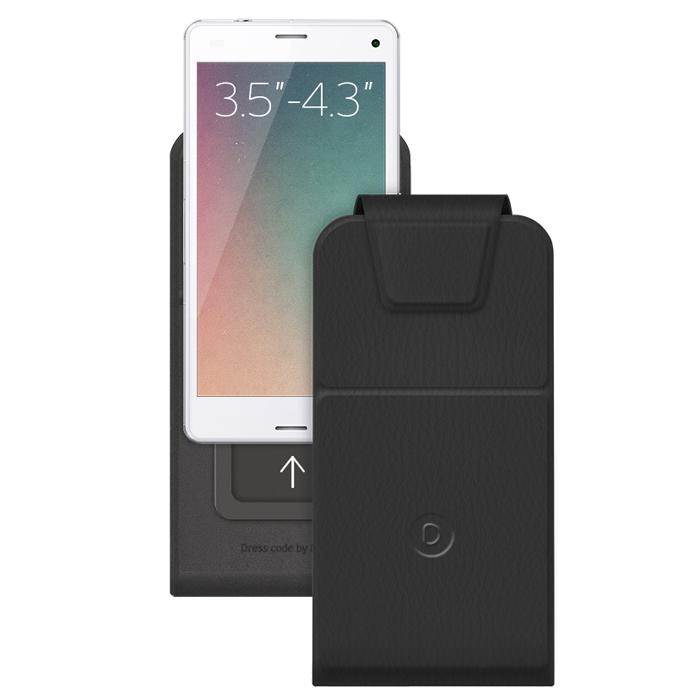 Deppa Flip Slide S универсальный чехол для смартфонов 3.5-4.3, Black81028Deppa Flip Slide S - стильный аксессуар для смартфонов с диагональю экрана 3.5-4.3, который защитит ваше мобильное устройство от внешних воздействий, грязи, пыли, брызг. Чехол также поможет при ударах и падениях, смягчая удары, не позволяя образовываться на корпусе царапинам и потертостям. Обеспечивает свободный доступ ко всем разъемам и клавишам устройства.