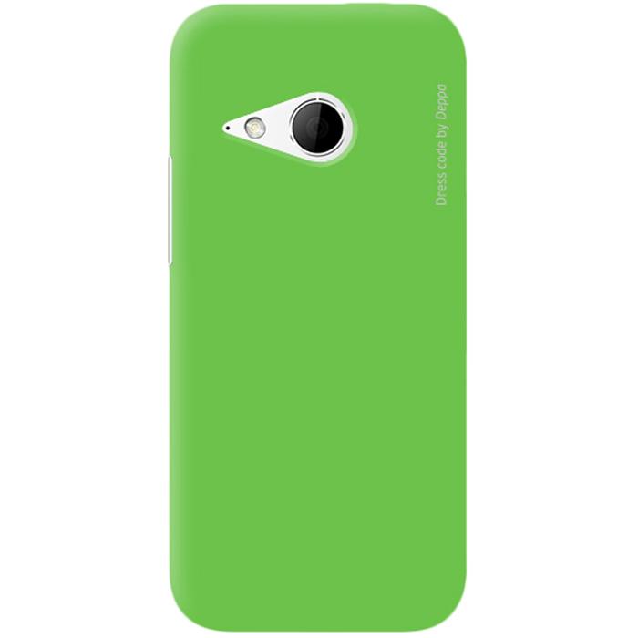 Deppa Air Case чехол для HTC One mini 2, Green83075Чехол Deppa Air Case для HTC One mini 2 предназначен для защиты корпуса смартфона от механических повреждений и царапин в процессе эксплуатации. Имеется свободный доступ ко всем разъемам и кнопкам устройства. Чехол изготовлен из поликарбоната Teijin производства Японии с покрытием Soft touch.