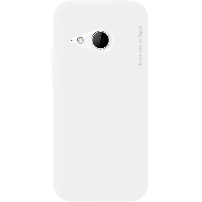 Deppa Air Case чехол для HTC One mini 2, White83074Чехол Deppa Air Case для HTC One mini 2 предназначен для защиты корпуса смартфона от механических повреждений и царапин в процессе эксплуатации. Имеется свободный доступ ко всем разъемам и кнопкам устройства. Чехол изготовлен из поликарбоната Teijin производства Японии с покрытием Soft touch.