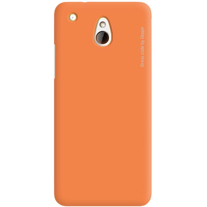 Deppa Air Case чехол для HTC One mini, Orange83045Чехол Deppa Air Case для HTC One mini предназначен для защиты корпуса смартфона от механических повреждений и царапин в процессе эксплуатации. Имеется свободный доступ ко всем разъемам и кнопкам устройства. Чехол изготовлен из поликарбоната Teijin производства Японии с покрытием Soft touch. В комплект также входит защитная пленка из трехслойного японского материала PET.