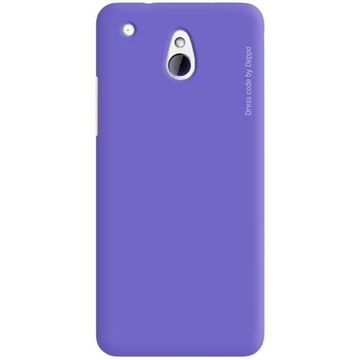 Deppa Air Case чехол для HTC One mini, Purple83043Чехол Deppa Air Case для HTC One mini предназначен для защиты корпуса смартфона от механических повреждений и царапин в процессе эксплуатации. Имеется свободный доступ ко всем разъемам и кнопкам устройства. Чехол изготовлен из поликарбоната Teijin производства Японии с покрытием Soft touch. В комплект также входит защитная пленка из трехслойного японского материала PET.