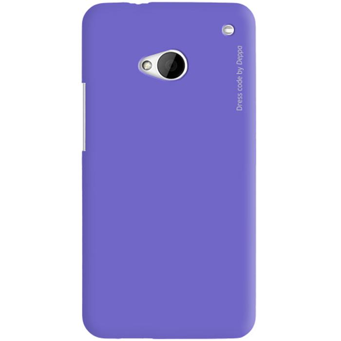 Deppa Air Case чехол для HTC One, Purple83016Чехол Deppa Air Case для HTC One предназначен для защиты корпуса смартфона от механических повреждений и царапин в процессе эксплуатации. Имеется свободный доступ ко всем разъемам и кнопкам устройства. Чехол изготовлен из поликарбоната Teijin производства Японии с покрытием Soft touch.