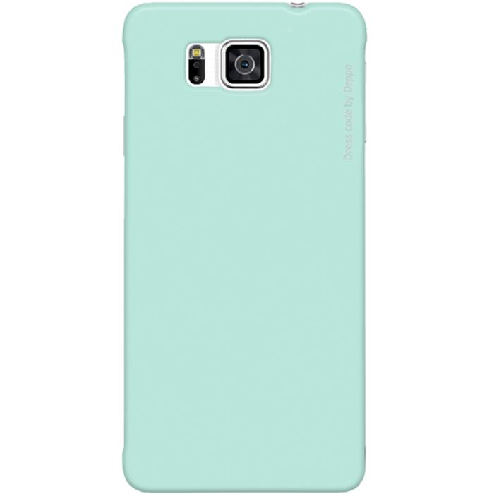 Deppa Air Case чехол для Samsung Galaxy Alpha, Mint83153Чехол Deppa Air Case для Samsung Galaxy Alpha предназначен для защиты корпуса смартфона от механических повреждений и царапин в процессе эксплуатации. Имеется свободный доступ ко всем разъемам и кнопкам устройства. Чехол изготовлен из поликарбоната Teijin производства Японии с покрытием Soft touch.