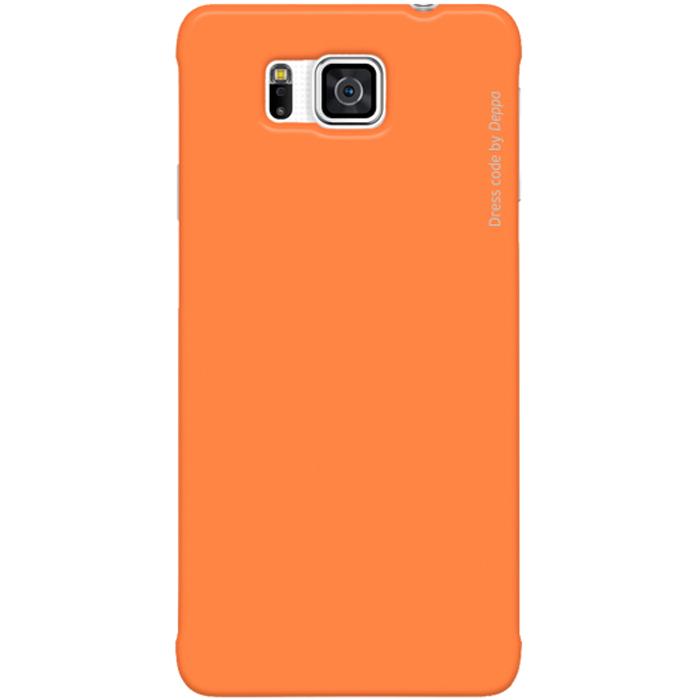 Deppa Air Case чехол для Samsung Galaxy Alpha, Orange83149Чехол Deppa Air Case для Samsung Galaxy Alpha предназначен для защиты корпуса смартфона от механических повреждений и царапин в процессе эксплуатации. Имеется свободный доступ ко всем разъемам и кнопкам устройства. Чехол изготовлен из поликарбоната Teijin производства Японии с покрытием Soft touch. В комплект также входит защитная пленка из трехслойного японского материала PET.