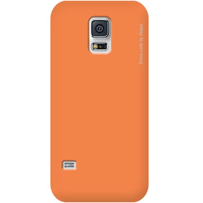 Deppa Air Case чехол для Samsung Galaxy S5 mini, Orange83081Чехол Deppa Air Case для Samsung Galaxy S5 mini предназначен для защиты корпуса смартфона от механических повреждений и царапин в процессе эксплуатации. Имеется свободный доступ ко всем разъемам и кнопкам устройства. Чехол изготовлен из поликарбоната Teijin производства Японии с покрытием Soft touch. В комплект также входит защитная пленка из трехслойного японского материала PET.