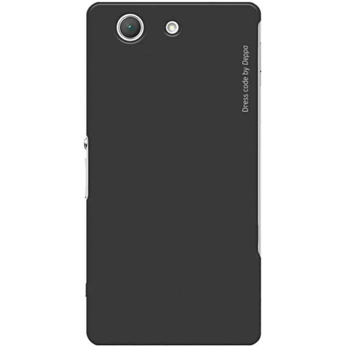 Deppa Air Case чехол для Sony Xperia Z3 Compact, Black83144Чехол Deppa Air Case для Sony Xperia Z3 Compact предназначен для защиты корпуса смартфона от механических повреждений и царапин в процессе эксплуатации. Имеется свободный доступ ко всем разъемам и кнопкам устройства. Чехол изготовлен из поликарбоната Teijin производства Японии с покрытием Soft touch.