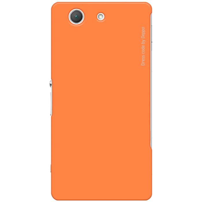 Deppa Air Case чехол для Sony Xperia Z3 Compact, Orange83142Чехол Deppa Air Case для Sony Xperia Z3 Compact предназначен для защиты корпуса смартфона от механических повреждений и царапин в процессе эксплуатации. Имеется свободный доступ ко всем разъемам и кнопкам устройства. Чехол изготовлен из поликарбоната Teijin производства Японии с покрытием Soft touch.