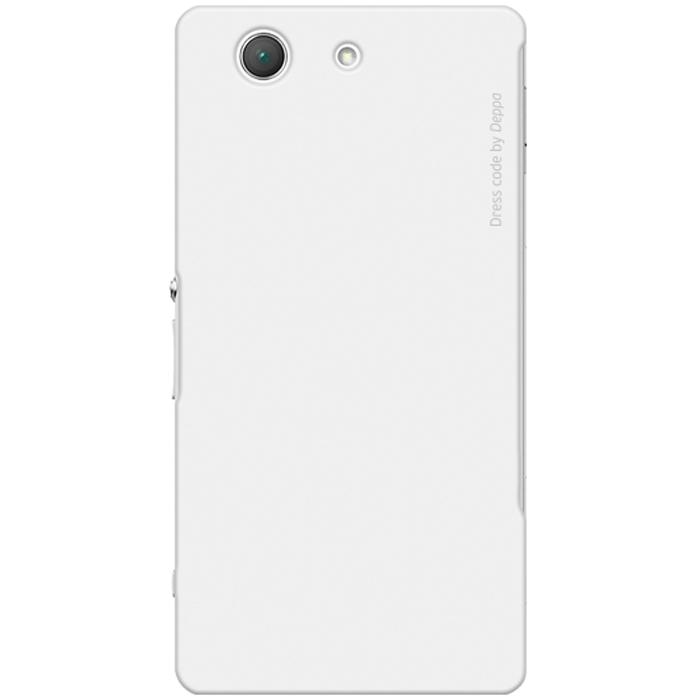 Deppa Air Case чехол для Sony Xperia Z3 Compact, White83141Чехол Deppa Air Case для Sony Xperia Z3 Compact предназначен для защиты корпуса смартфона от механических повреждений и царапин в процессе эксплуатации. Имеется свободный доступ ко всем разъемам и кнопкам устройства. Чехол изготовлен из поликарбоната Teijin производства Японии с покрытием Soft touch.