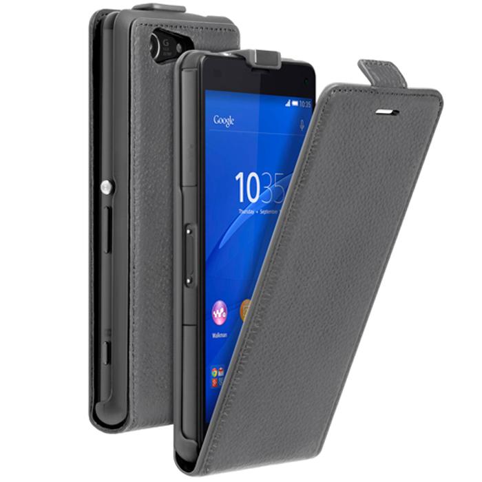 Deppa Flip Cover чехол для Sony Xperia Z3 Compact, Grey81046Чехол Deppa Flip Cover для Sony Xperia Z3 Compac предназначен для защиты корпуса смартфона от механических повреждений и царапин в процессе эксплуатации. Имеется свободный доступ ко всем разъемам и кнопкам устройства. В комплект также входит защитная пленка из трехслойного японского материала PET.