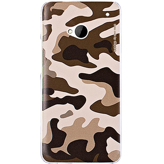 Deppa Military Case чехол для HTC One, Brown
