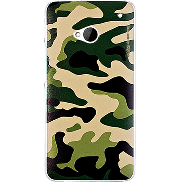 Deppa Military Case чехол для HTC One, Green85020Чехол Deppa Military Case для HTC One предназначен для защиты корпуса смартфона от механических повреждений и царапин в процессе эксплуатации. Имеется свободный доступ ко всем разъемам и кнопкам устройства. В комплект также входит защитная пленка из трехслойного японского материала PET.