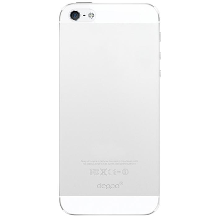 Deppa Sky Case чехол для Apple iPhone 5/5s, Clear86002Чехол Deppa Sky Case для iPhone 5/5s предназначен для защиты корпуса смартфона от механических повреждений и царапин в процессе эксплуатации. Имеется свободный доступ ко всем разъемам и кнопкам устройства. Чехол изготовлен из полипропилена и имеет толщину 0,3 мм.