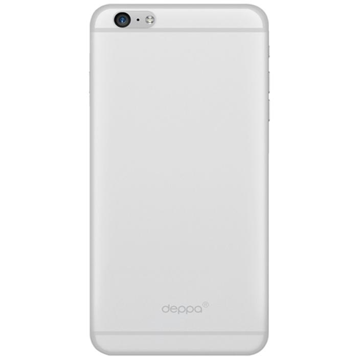 Deppa Sky Case чехол для Apple iPhone 6 Plus, Clear86018Чехол Deppa Sky Case для iPhone 6 Plus предназначен для защиты корпуса смартфона от механических повреждений и царапин в процессе эксплуатации. Имеется свободный доступ ко всем разъемам и кнопкам устройства. Чехол изготовлен из полипропилена и имеет толщину 0,4 мм.