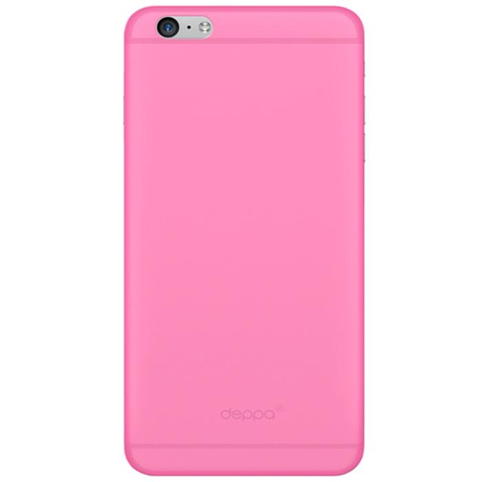 Deppa Sky Case чехол для Apple iPhone 6 Plus, Pink86021Чехол Deppa Sky Case для iPhone 6 Plus предназначен для защиты корпуса смартфона от механических повреждений и царапин в процессе эксплуатации. Имеется свободный доступ ко всем разъемам и кнопкам устройства. Чехол изготовлен из полипропилена и имеет толщину 0,4 мм.
