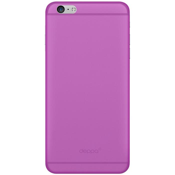 Deppa Sky Case чехол для Apple iPhone 6, Purple - Deppa86014Чехол Deppa Sky Case для iPhone 6 предназначен для защиты корпуса смартфона от механических повреждений и царапин в процессе эксплуатации. Имеется свободный доступ ко всем разъемам и кнопкам устройства. Чехол изготовлен из полипропилена и имеет толщину 0,4 мм. В комплект также входит защитная пленка из трехслойного японского материала PET.