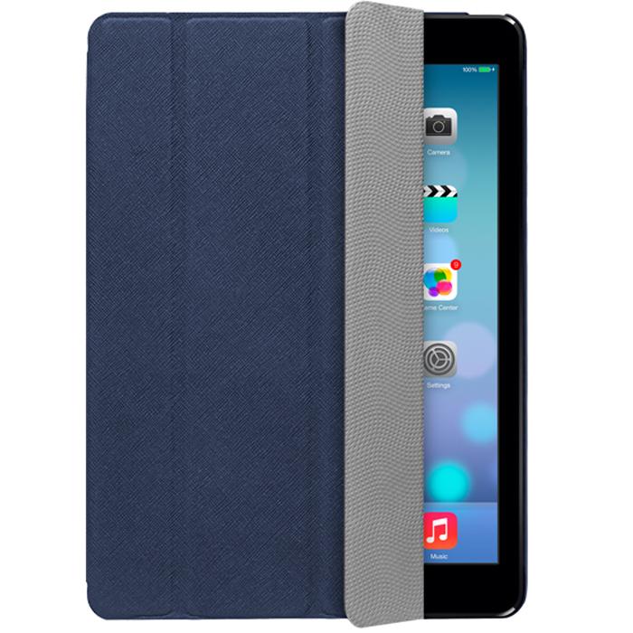 Deppa Ultra Cover чехол-подставка для iPad Air, Blue82018Чехол-подставка Deppa Ultra Cover защитит ваш iPad Air от царапин, пыли и грязи. Данная модель оснащена магнитом, что позволяет выключать планшет простым закрытием экрана. Обеспечивает свободный доступ ко всем портам и кнопкам устройства. В комплект также входит защитная пленка из трехслойного японского материала PET.